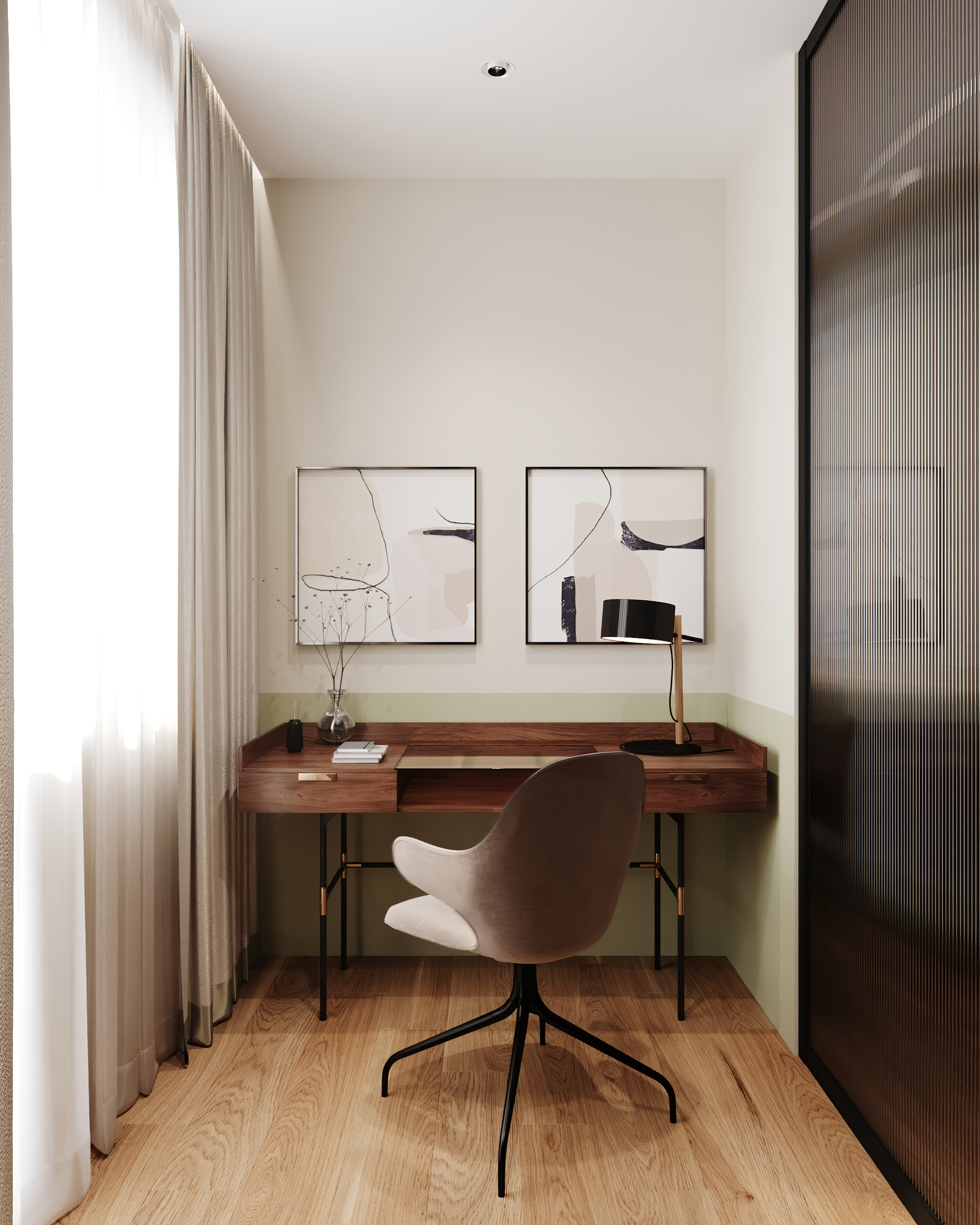 Home office design and decor