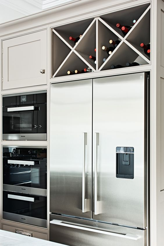 Decorating ideas for the top of refrigerator